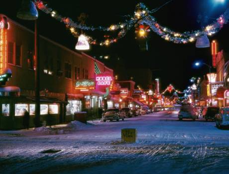 Fairbanks Alaska 2nd Avenue Christmas