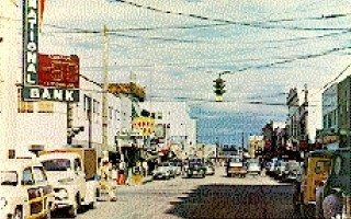 Fairbanks Downtown 1950's