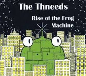 Cover of the Thneeds Frog Machine CD