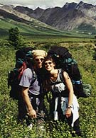 Pat & Robin backpacking
